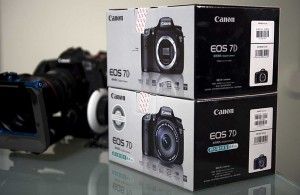 Shiny new Canon Eos7D