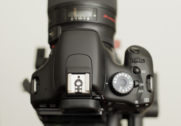 The 550D top plate