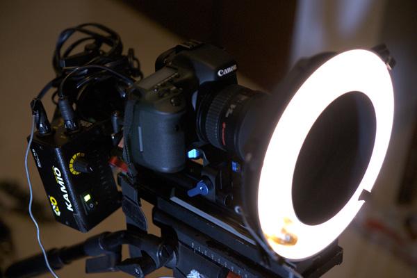 7D ringlight rig