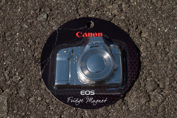 The Canon 5DmkII fridge magnet