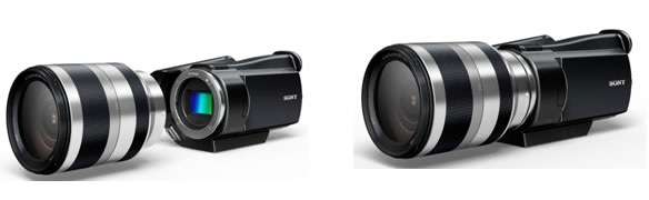 Conceptual Mock-up of the HD Camcorder under Development/courtesy of Sony