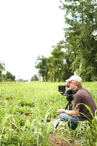 The Canon 7D rig 'in the field'
