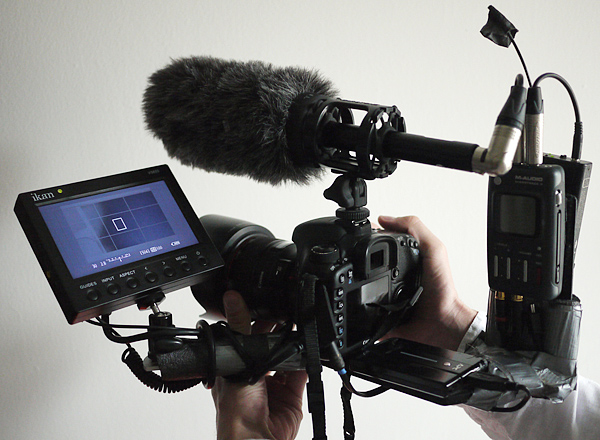 The Canon Eos7D 'Franken camera' rig used by Travis Fox