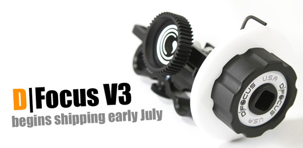 The new D-Focus V3 budget follow focus