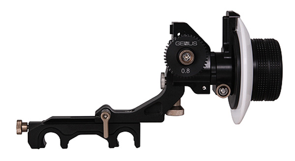 The Genus Superior Follow Focus with quick release