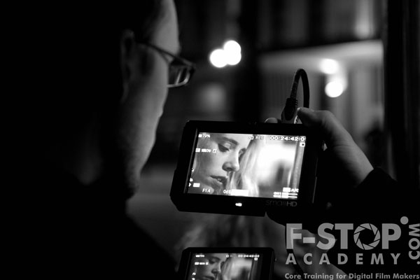 Using the SmallHD monitor with the FS-100