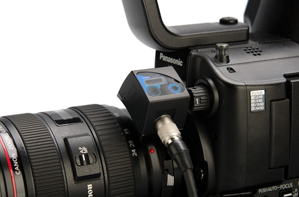 The Redrockmicro Live lens adapter to use EOS lenses on the AF101