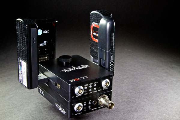 Bond from Teradek - a low cost cellular bonding solution for
