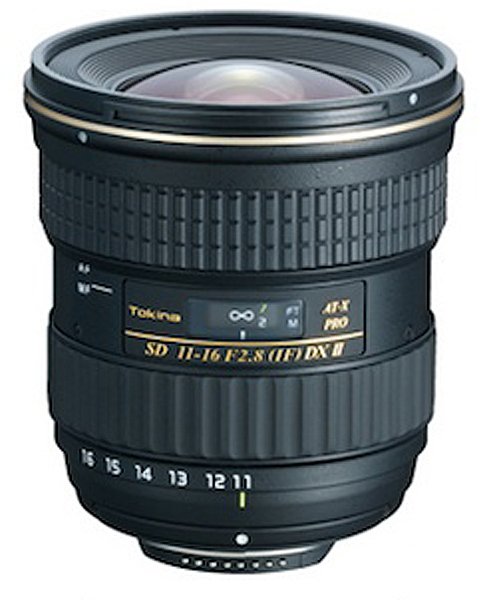 The Tokina AT-X 11-16 f/2.8 PRO DX Ⅱ is a good super wide angle option