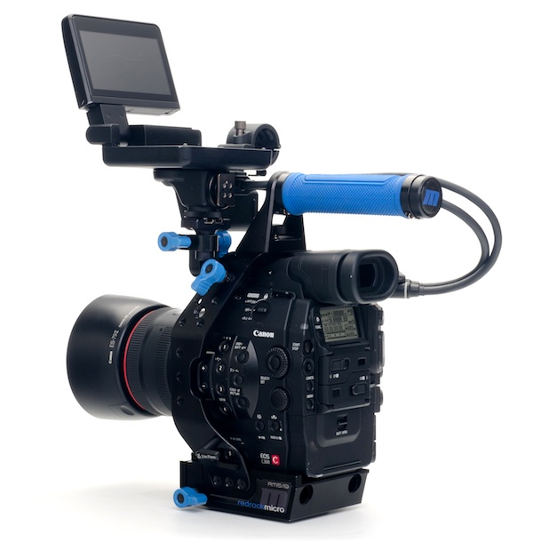 canon eos c300 with ultraCage 1 lg1