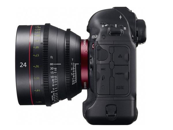 The Canon EOS-1D C