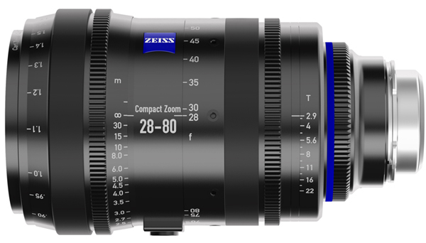 The Zeiss 28-80 cine zoom