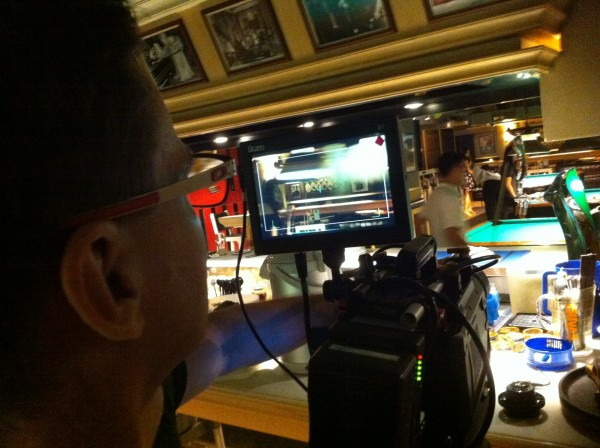 Dslrnewsshooter technical editor Matt Allard uses the D7w while testing the Chinese KineRAW camera