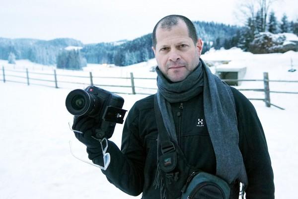 Johnnie Behiri with the Canon EOS-1D C