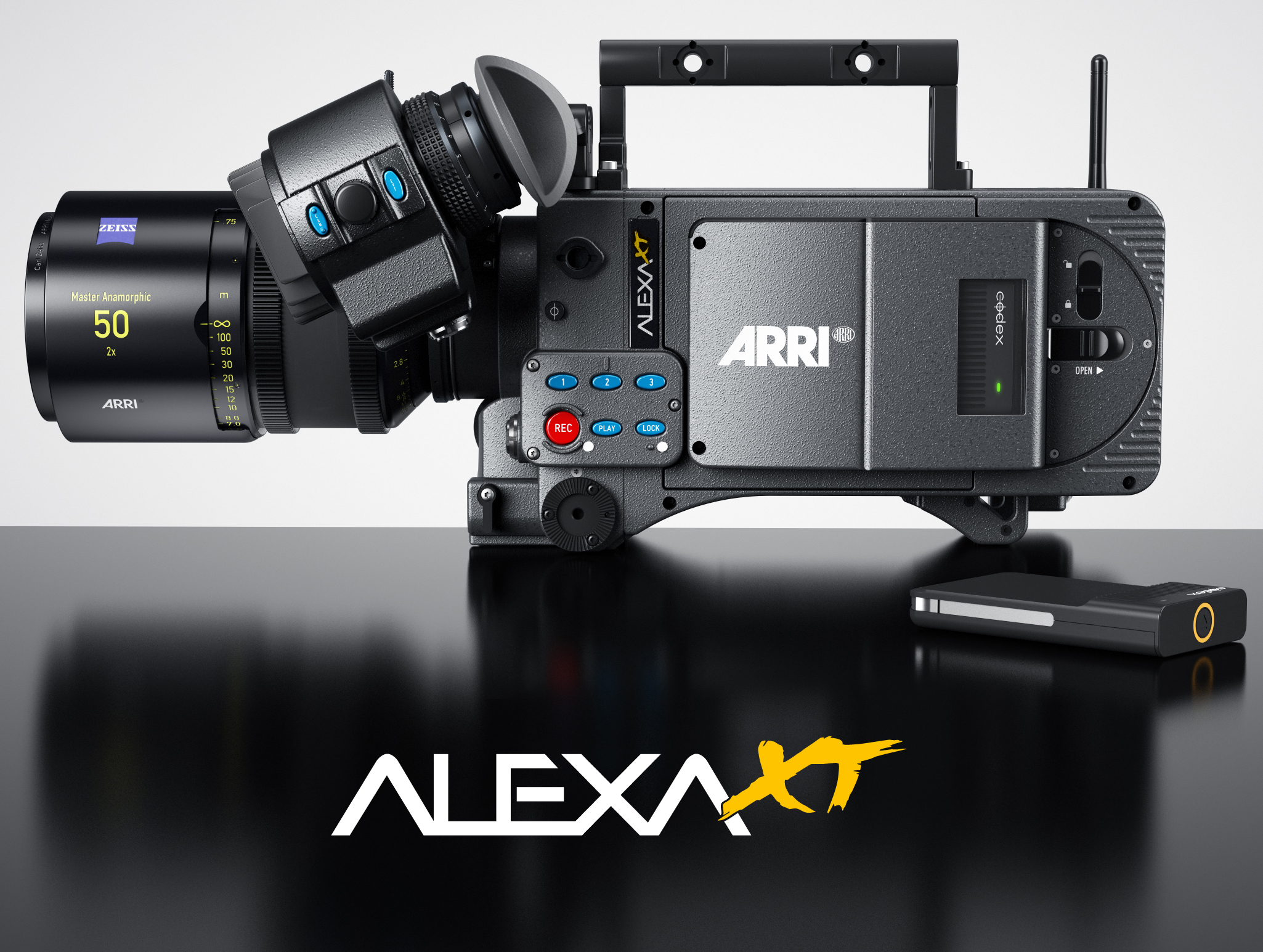 Arri Alexa XT refresh adds in camera RAW recording and in camera ND filter module