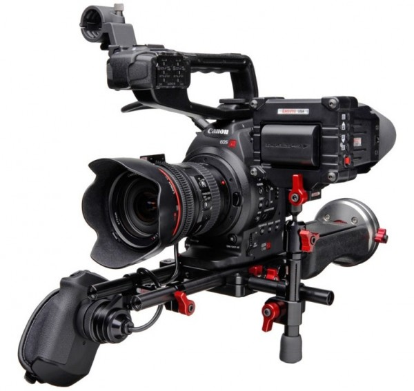 The C-Shooter with optional EVF and EVF mount