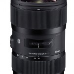 Sigma produces first f/1.8 constant aperture standard zoom lens