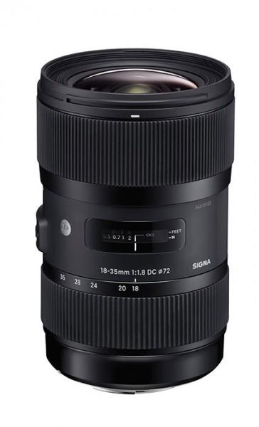 Sigma's 18-35mm f1.8