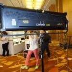Broadcast Asia 2013: Kinoflo Celeb 400 LED light – improved for location work
