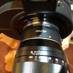 Broadcast Asia 2013: Viltrox low cost EF to NEX lens adapter