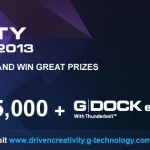 G-technology G-Drive ev and G-DOCK ev Thunderbolt ship