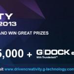G-technology G-Drive ev and G-DOCK ev Thunderbolt ship