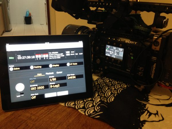 iPad control of the F5 and F55 is one of the new features
