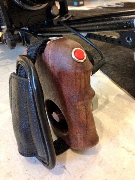 Movcam's excellent wooden F5/F55 trigger handle