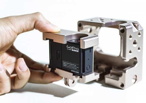 The Genustech shim system for Naked GoPro