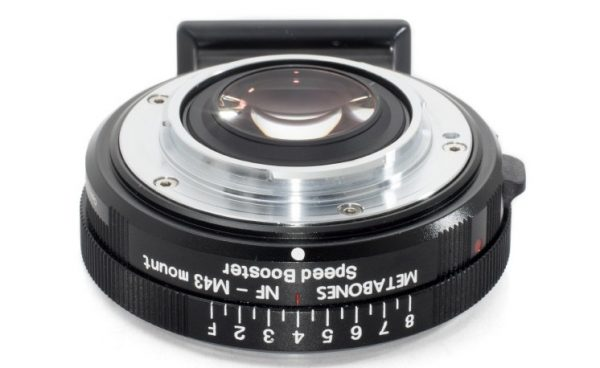 The Nikon-G to M4/3 Metabones Speedbooster