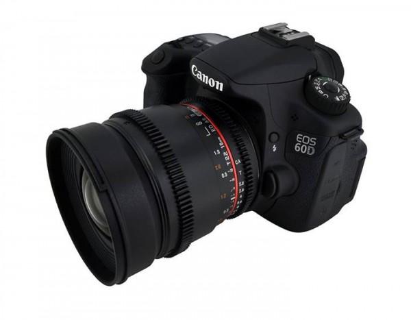 The new Rokinon 16mm T2.2 cine lens