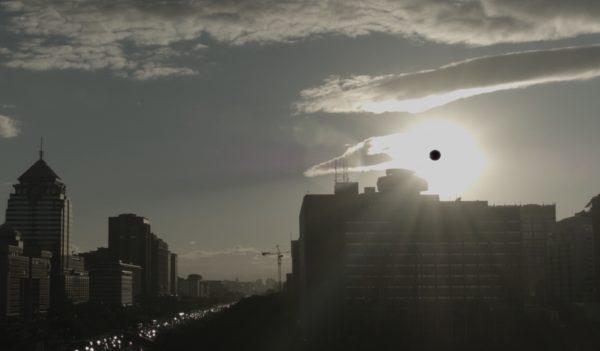 The black spot seen in the sun