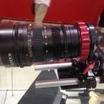 BIRTV 2013: Vocas wooden handgrips and PL mount system for Blackmagic Pocket Cinema camera