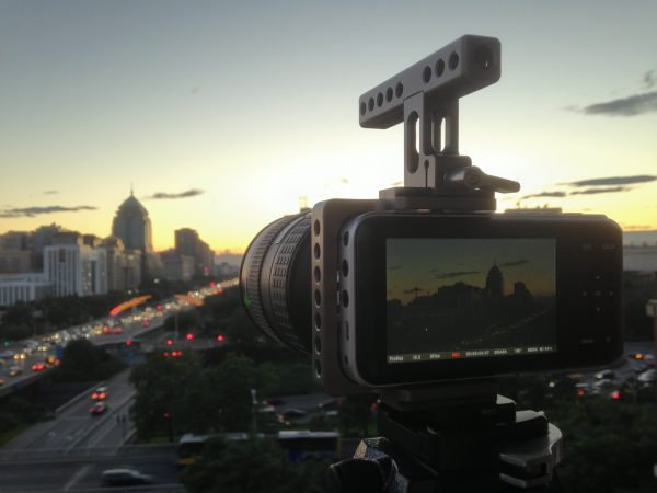 Shooting timelape with the BMPCC and Olympus 14-35mm f2 lens
