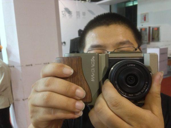 The Blackmagic Pocket Cinema camera clad in a Movcam cage