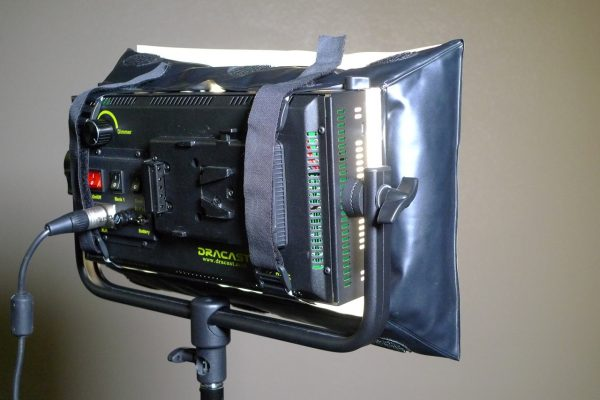 126 softbox on a Draycast 500 LED