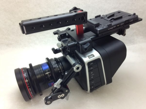Blackmagic Cinema Camera all tricked out with Technical Farm gear