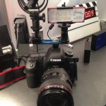 IBC 2013: Ambient technology show simple, yet solid accessory mounting solution and also bracket for mounting radio and shotgun mics to a DSLR