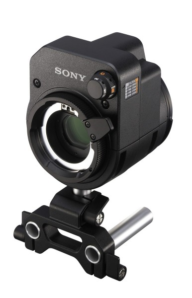 Sony's LA-FZB2 with intergrated motorised ND and CC filters