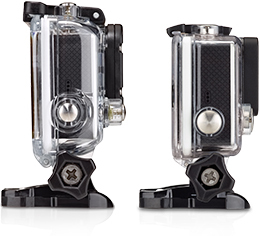 The GoPro Hero3 and Hero3+ side by side