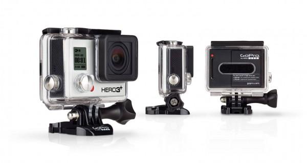The GoPro Hero3+