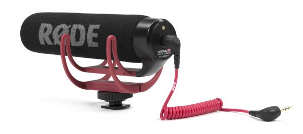 The VideoMic Go has a Rycote Lyre suspension system