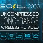 Teradek's Bolt Pro 2000 SDI wireless transmitter gets long range test