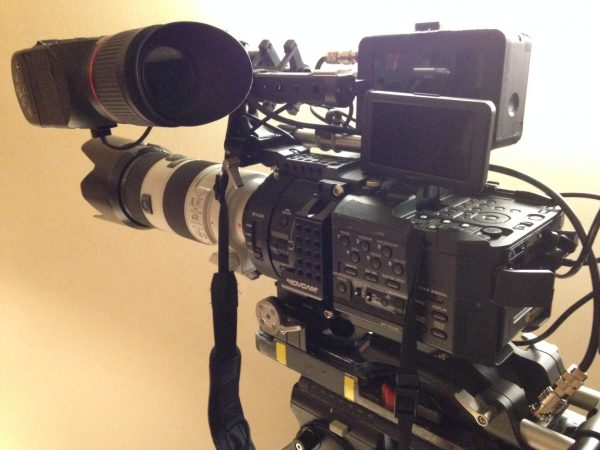The FS700 all tricked out