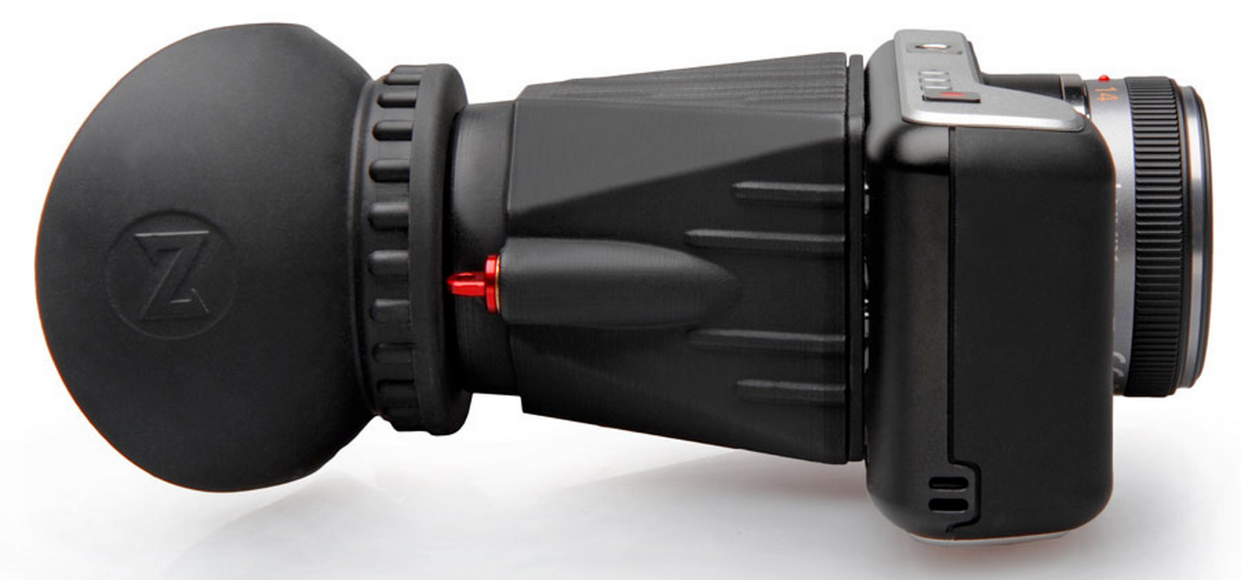 Zacuto Z-finder for Blackmagic Pocket Cinema Camera now available for pre-order
