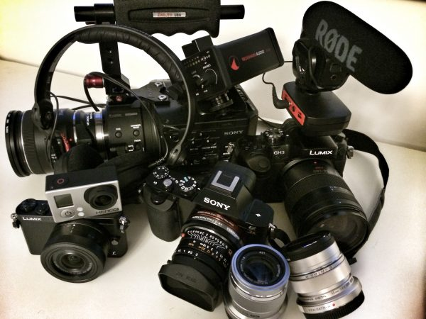 What gear should a Multimedia shooter on a budget choose?
