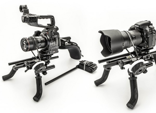 The SC4:Large with Canon C100 and Nikon D800