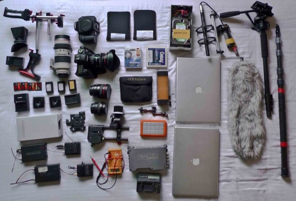 Shaoguang's DSLR kit for China Heavyweight