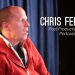 Go Creative show talks to post production guru Chris Fenwick and GH4 with Illya Friedman