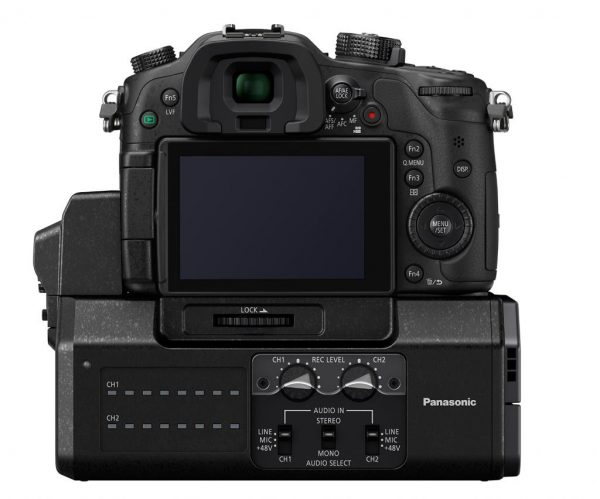 The GH4 with DMW-YAGH interface pack